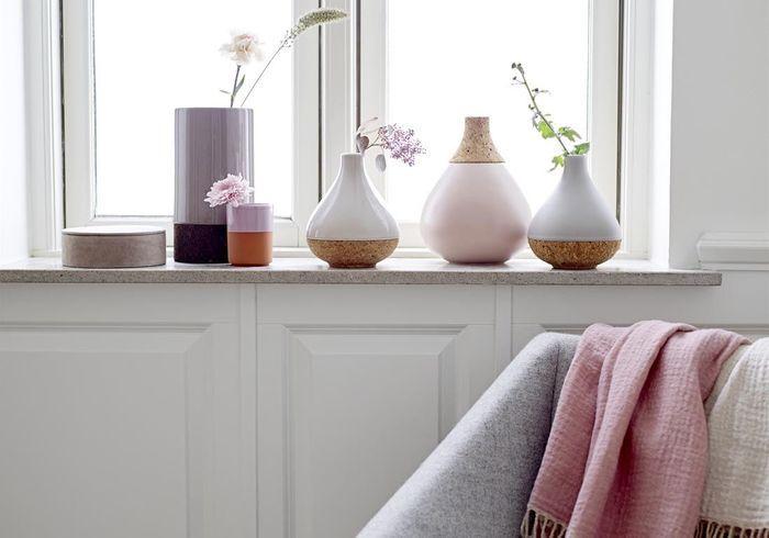 Vases pastel Bloomingville