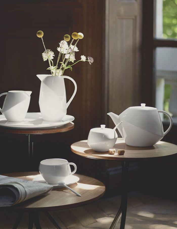 Service à thé d'inspiration Bauhaus Habitat