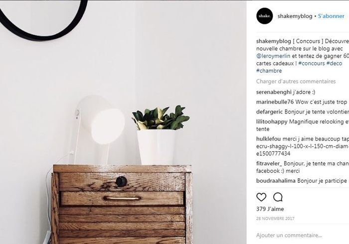 nos 50 comptes instagram pr f r s elle d coration. Black Bedroom Furniture Sets. Home Design Ideas