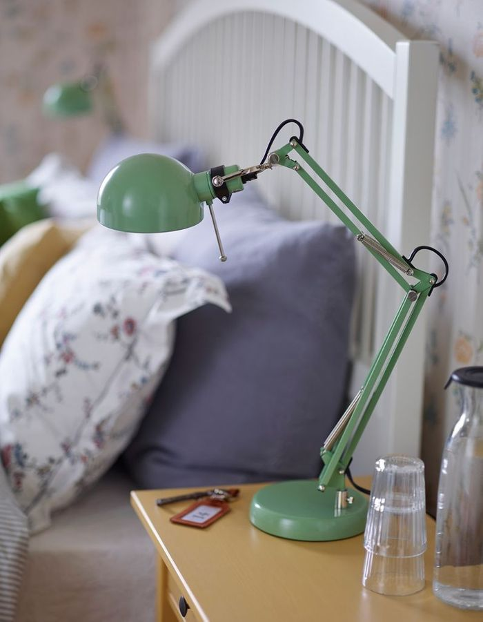 Une lampe rétro