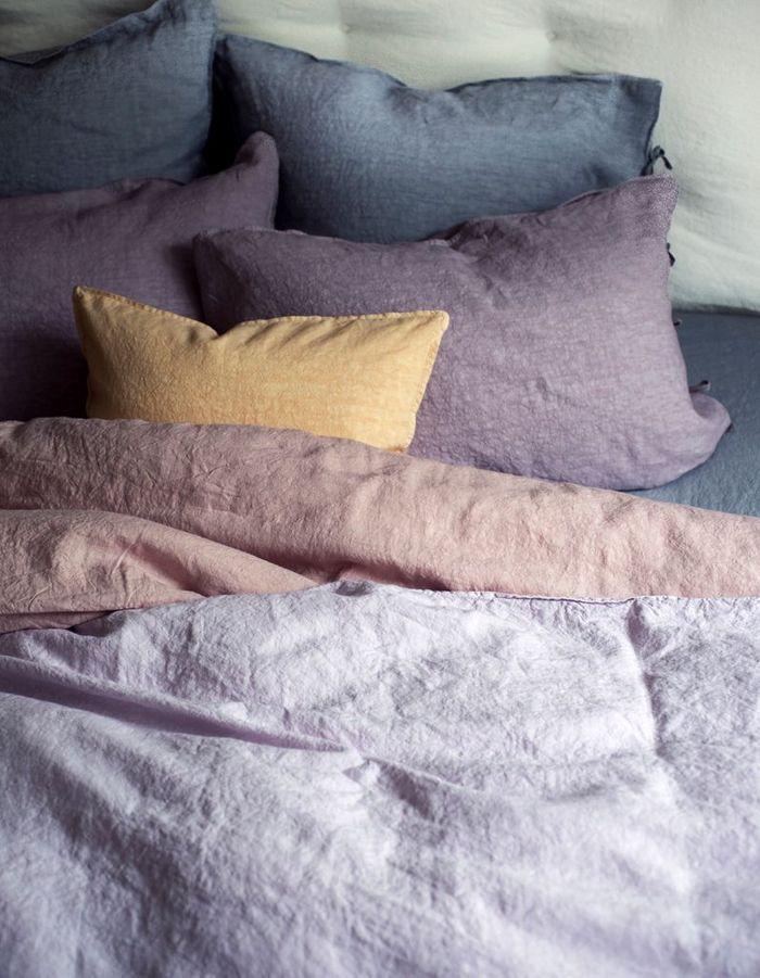 Du linge de lit pastel