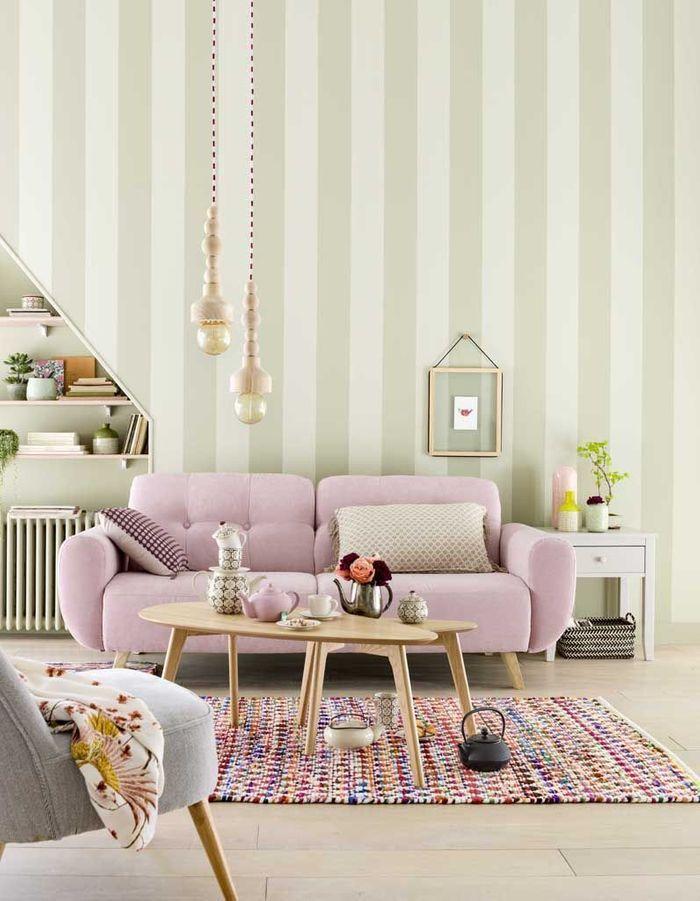 Une salon pastel