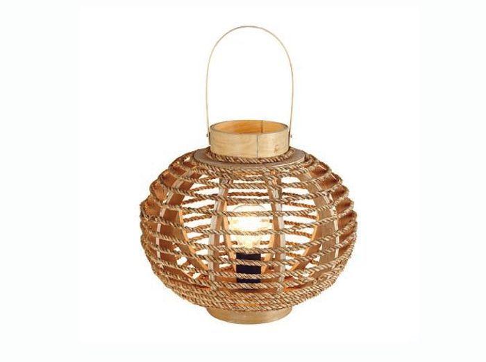 lampe en sisal