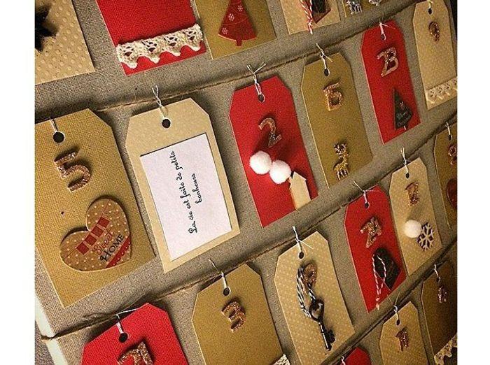 Calendrier De Lavent Pochettes Traditionnelles