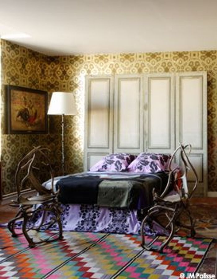 christian lacroix artiste en r sidence elle d coration. Black Bedroom Furniture Sets. Home Design Ideas