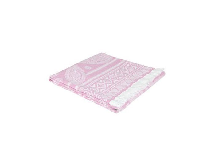 Couverture cashmere rose zara