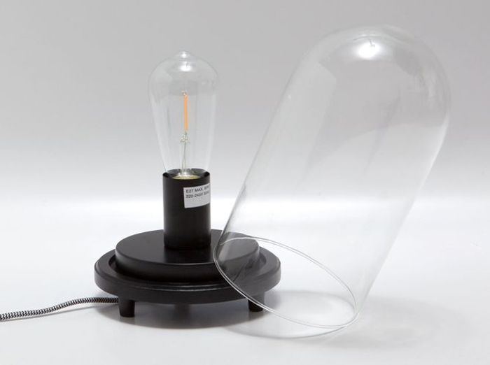 Un luminaire façon cabinet de curiosité