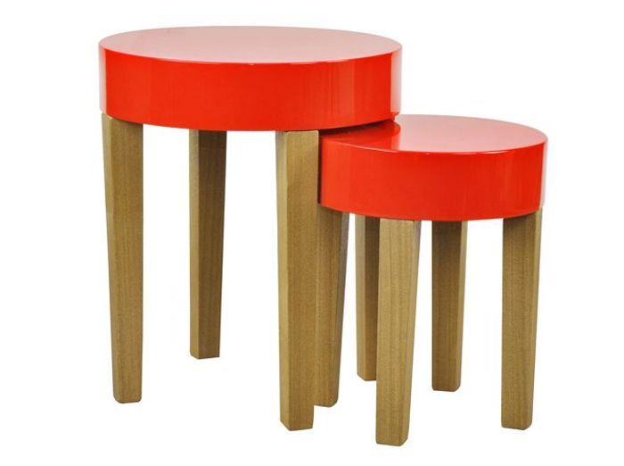 Table semadesign rouge