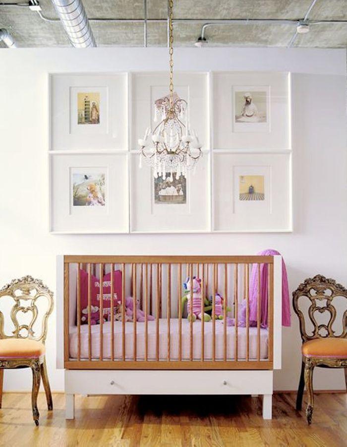 Une chambre de bébé décalée