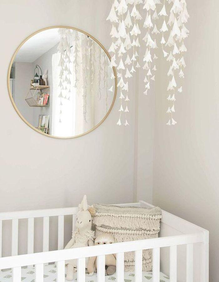Une chambre de bébé délicate