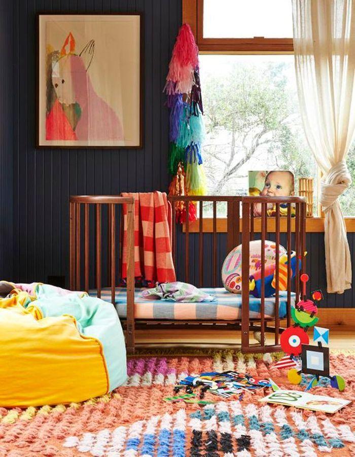 Une chambre de bébé pop