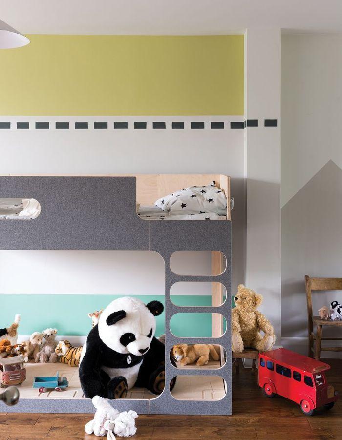 Une chambre d'enfant zen grâce à un espace jeu cocooning