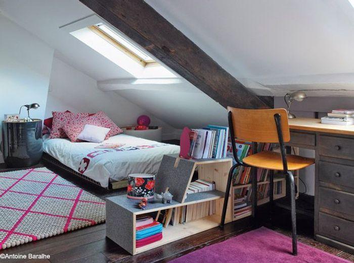 Les 30 plus belles chambres de petites filles elle d coration for Petit bureau chambre ado