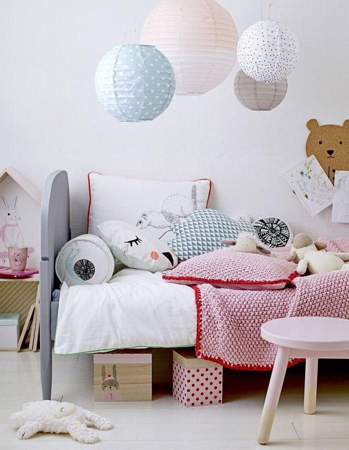 Chambre de petite fille toute en douceur