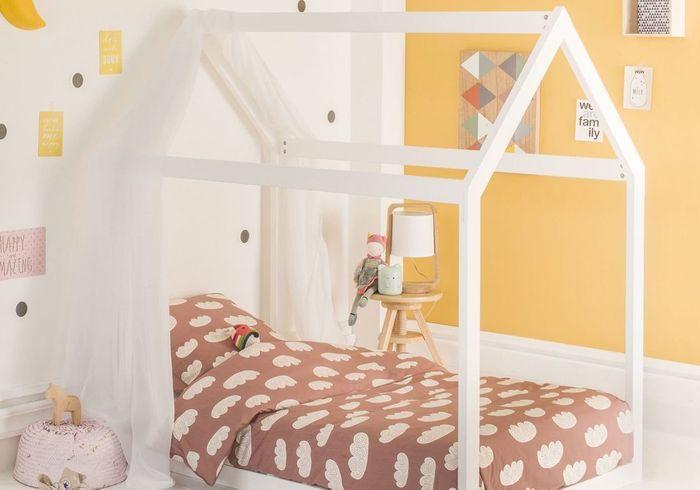 Un lit cabane