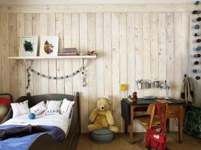 10 chambres d 39 enfant sobres et pur es elle d coration - Chambre d enfant deco ...
