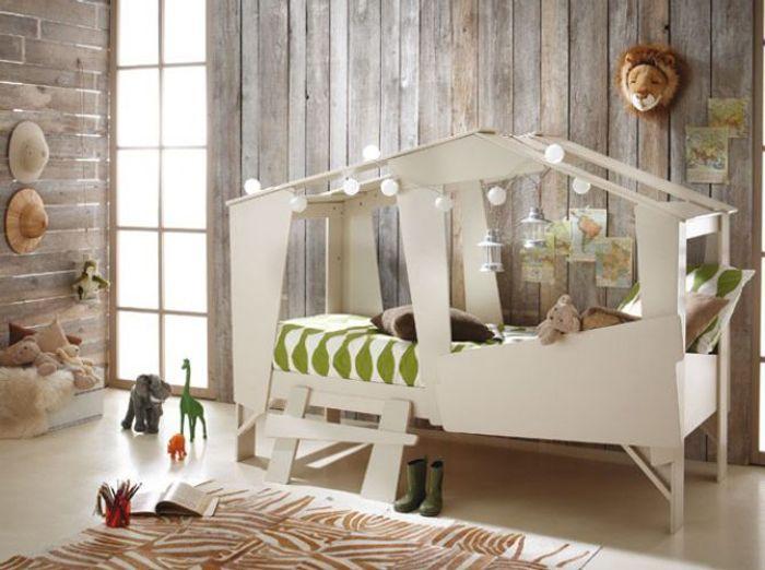 Un lit cabane design