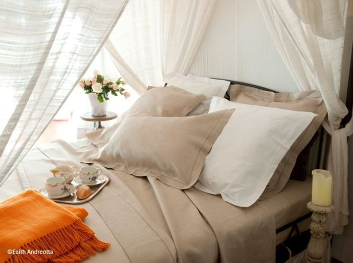 Chambre romantique cocon