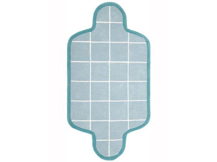 Tapis graphique effet piscine pour enfant