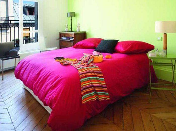 Des chambres hautes en couleurs