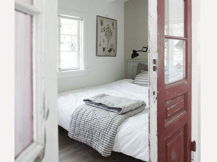 Des chambres zen et pur es elle d coration - Deco chambre blanche ...