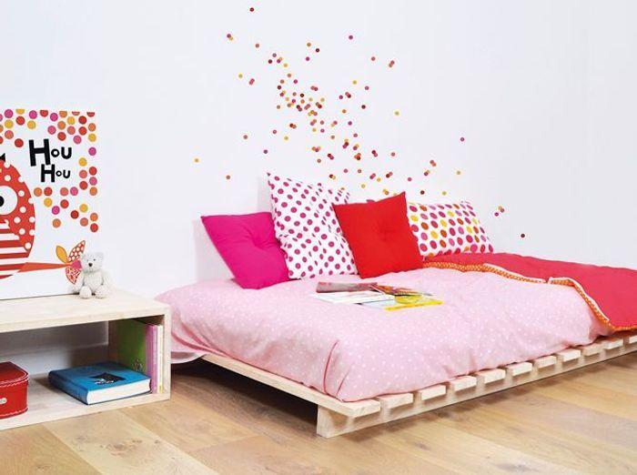 decoration chambre fille. Black Bedroom Furniture Sets. Home Design Ideas