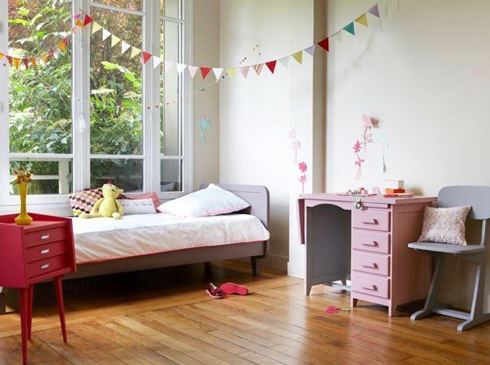 les 40 plus belles chambres de petites filles elle. Black Bedroom Furniture Sets. Home Design Ideas
