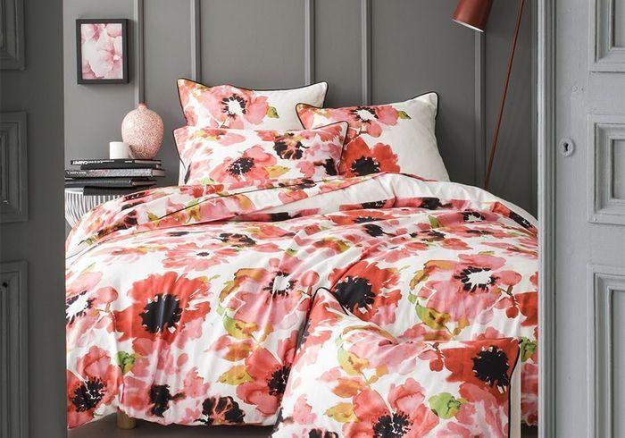 pour une chambre vitamin e rien de mieux que du linge de lit color d couvrez notre s lection. Black Bedroom Furniture Sets. Home Design Ideas