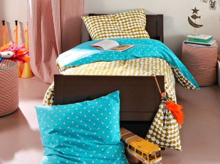 linge de lit notre s lection pour les enfants elle d coration. Black Bedroom Furniture Sets. Home Design Ideas