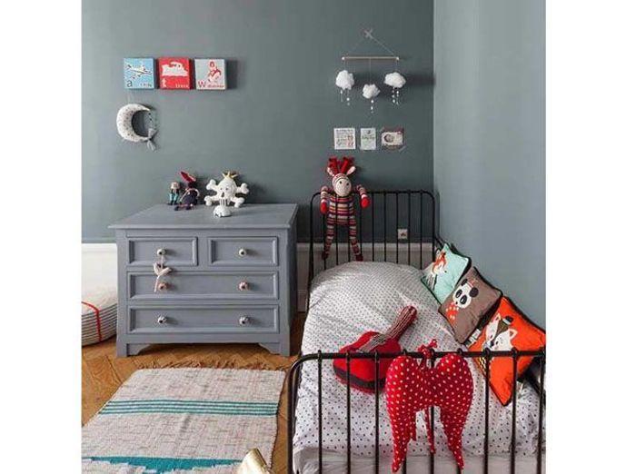 Une chambre d'enfant accessoirisée