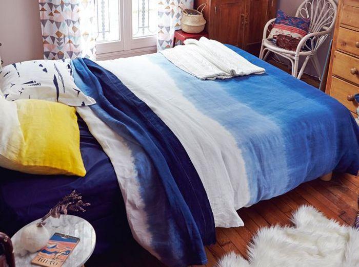 vent de fraîcheur sur le linge de lit ! - elle décoration