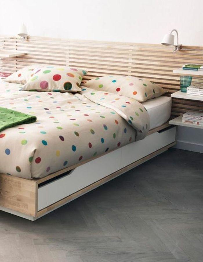 Lit avec rangement Ikea