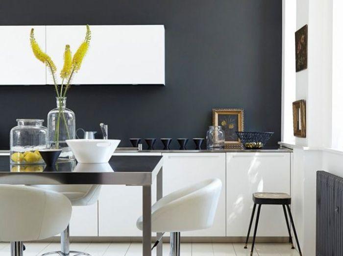 25 astuces pour apporter une touche de couleur votre for Carrelage gris quelle couleur pour les murs