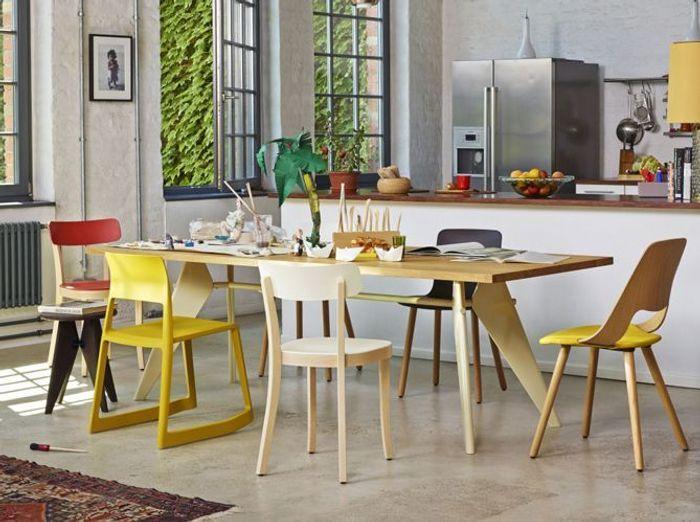 Coup de c ur pour les chaises d pareill es elle d coration - Chaises cuisine couleur ...