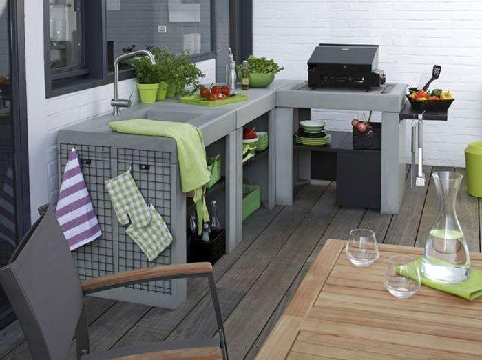 des cuisines d t pour tous les styles elle d coration. Black Bedroom Furniture Sets. Home Design Ideas