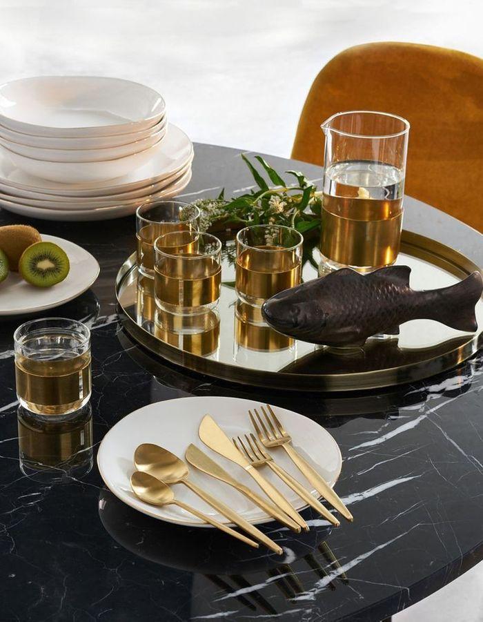 notre shopping malin pour une d co de table pas ch re. Black Bedroom Furniture Sets. Home Design Ideas