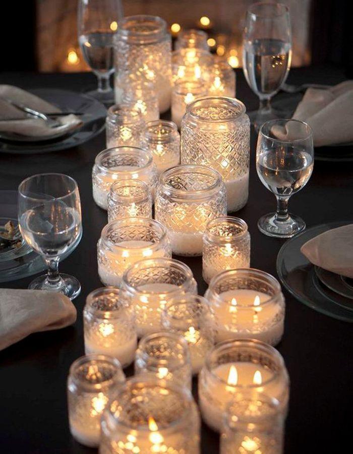 Décoration de table hiver : multipliez les lumières indirectes
