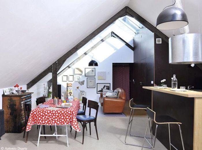 Des salles manger tr s d co elle d coration for Deco salon petit espace