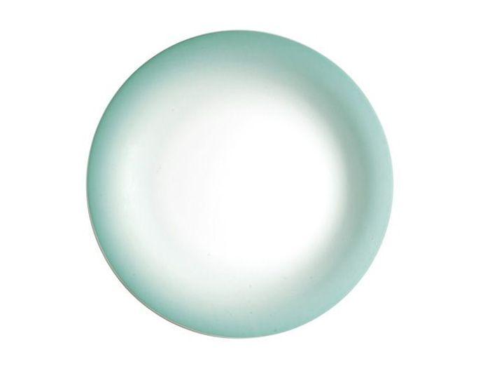 assiette bleu minéral