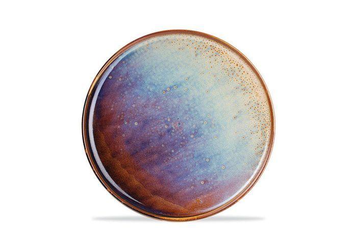 Assiette en céramique Fleux'