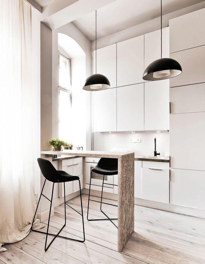 Meuble petite cuisine meuble de rangement pour petite for Cuisine americaine dans petit espace