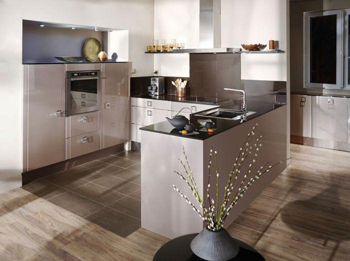 cuisines lapeyre choisies par frédéric anton - elle décoration