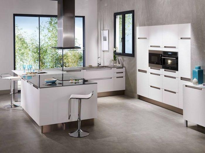 Cuisine lapeyre bistrot armoire de cuisine en bois fonce for Soldes cuisines lapeyre