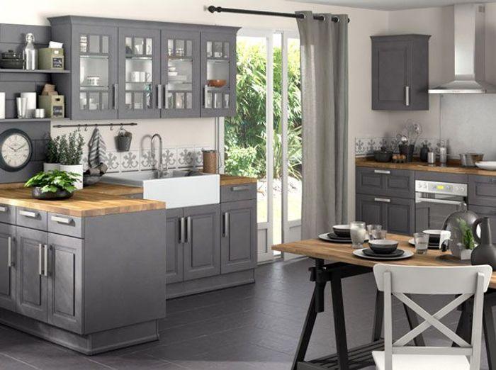 cuisines lapeyre s lection de mod les elle d coration. Black Bedroom Furniture Sets. Home Design Ideas