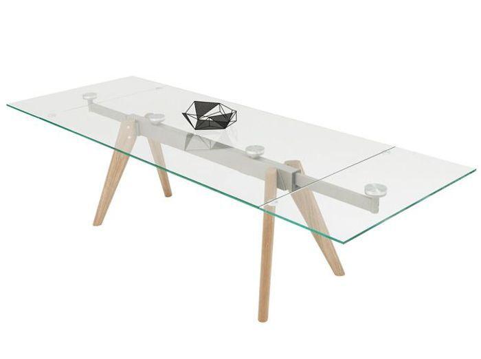 Table rallonges du mobilier aussi pratique que for Table a rallonge design