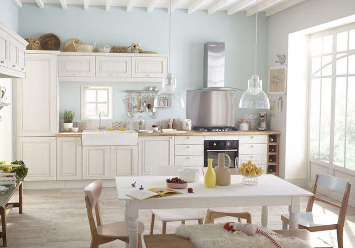 D couvrez les plus belles tables de cuisine du moment - Table de cuisine leroy merlin ...