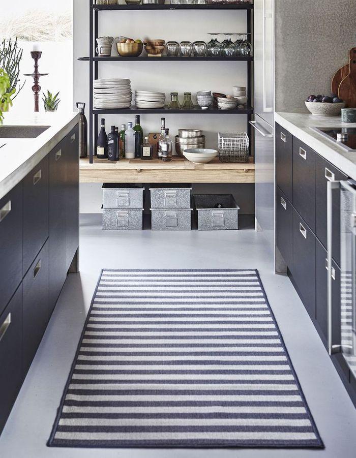 Ide cuisine en longueur une penderie dans mon entre - Jolie cuisine ouverte ...