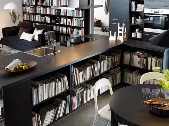 Nos Idées Décoration Pour La Cuisine Elle Décoration - Grande table de cuisine pour idees de deco de cuisine