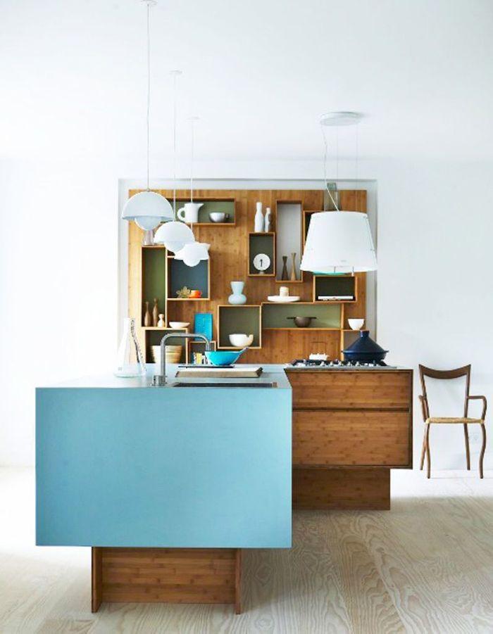 photos cuisine bois la preuve que les cuisines en bois sont contemporaines elle d coration. Black Bedroom Furniture Sets. Home Design Ideas