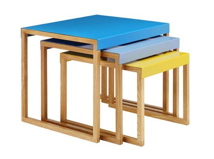 Des meubles astucieux et sympas pour votre studio elle d coration - Table gigogne habitat ...